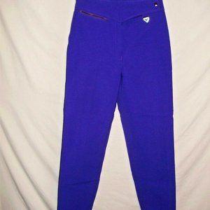 Obermeyer Womens Size 4 Reg Purple Softball Pants